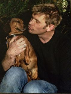 Frankie and dad. Hangin out. Via Mark Pellegrino