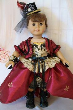 American Girl Doll Clothes Steampunk Victorian by MyKaraBella