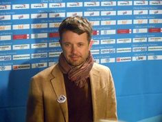 HRH Crown Prince Frederik of Denmark, cool and casual......