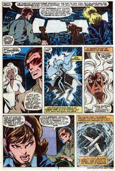 John Byrne Draws... — X-Men #120, page 7 by John Byrne & Terry Austin &...