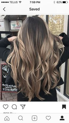 Hair - - - Future Hair – – -Future Hair - - - Future Hair – – - Looking for the top spring hair colors? hair color trends 50 Impressive Blonde Balayage Hairstyles Ideas In Year 2019 2019 hair color trends you'll. Light Brown Hair, Light Hair, Dark Hair, Blonde Hair, Blonde Brunette, Grey Hair, Grey Balayage, Hair Color Balayage, Hair Highlights