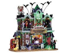 Lemax Spooky Town - Heebie Jeebie's Rock Club - NIB #Lemax