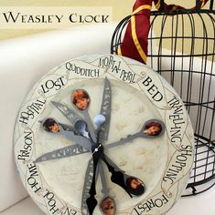 Tutorial: Weasley Family Clock