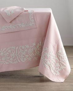 Dori Tablecloth, Placemats, & Napkins  at Horchow.