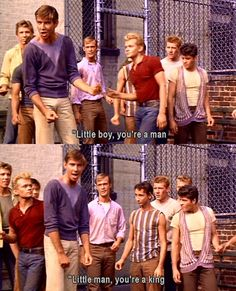 Jet Song in West Side Story West Side Story Characters, West Side Story Movie, West Side Story 1961, 1961 Movies, Iconic Movies, Old Movies, Theatre Nerds, Musical Theatre, Theater