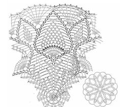 Crochet Umbrellas Archives - Beautiful Crochet Patterns and Knitting Patterns Free Crochet Doily Patterns, Crochet Doily Diagram, Crochet Chart, Thread Crochet, Filet Crochet, Irish Crochet, Crochet Motif, Crochet Doilies, Knitting Patterns