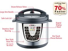 Features | Power Pressure Cooker XL™ -I love infomercials! Ahhh I'm addicted.