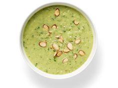 Debi and Gabriele's Green Gazpacho recipe from Food Network Magazine via Food Network