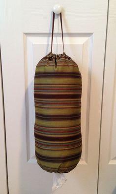 How to Make Grocery Bag Holder/ Tubes