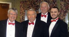 Barbershop Quartets to Sing on Valentine's Day - http://www.mypaperonline.com/barbershop-quartets-to-sing-on-valentines-day.html