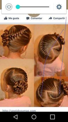 Little Girl Hairstyles, Updos, Little Girls, Braids, Hair Styles, Cute, Christmas, Ideas, Mariana