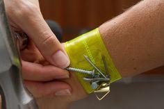 Little things that make life easier. Magnetic bracelet.