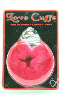 Buy Furry Love Cuffs Red online cheap. SALE! $12.49