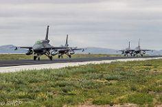 F-16 Fighting Falcons Turkish Air Force Anatolian Eagle 2016 Turkey