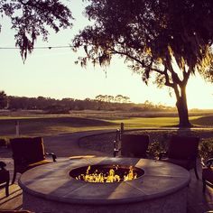 """.@omni_aip's photo: """"Marsh View sunset. Not a bad way to end the day. #omnihotels"""""""
