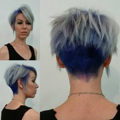 Getting haircut and Color for Women - A-line Short Hairstyles