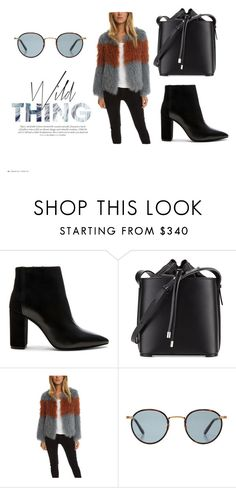 Wild Young Thang! by blueandcream on Polyvore featuring Pam & Gela, IRO, 3.1 Phillip Lim and Garrett Leight