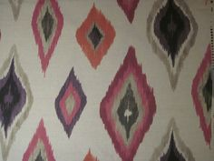 HARLEQUIN SCION CURTAIN FABRIC DESIGN   Amala  12 METRES BERRY/SAND/GRAPE