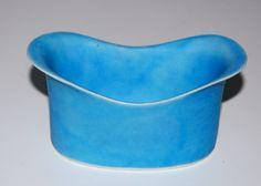 Beate Andersen, small bowl in porcelain. own studio Lille Strandstræde Copenhagen Denmark. H: 5. 11x6,8 cm.