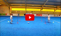 Soccer First Touch Drills. The best videos and articles on the web for football coaches.