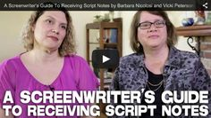 A #Screenwriter's Guide To Receiving #Script Notes by Authors Barbara Nicolosi and Vicki Peterson of Notes to Screenwriters via http://filmcourage.com/   For more videos, please visit https://www.youtube.com/user/filmcourage  #filmandtelevision #womenwriters #screenwritingtips #screenwriting101 #screenplay #writing #write