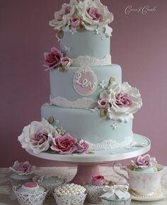 So Pretty Wedding Cake