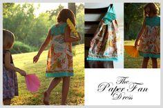 The Paper Fan dress, Anna Marie Horner | Sewing Secrets - A Blog by Coats & Clark
