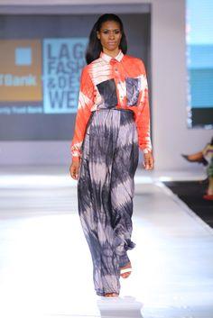 GTBank Lagos Fashion & Design Week 2013. Republic of Foreigner Spring Summer 2014