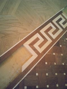Artparquet#woodfloor#borderinstallation