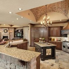 vault ceiling Mediterranean Home Design Ideas, Pictures, Remodel and Decor