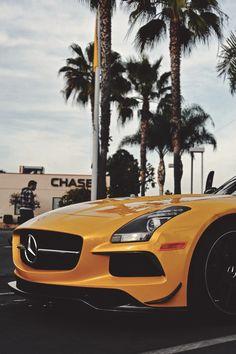 Mercedes SLS nose. #cars