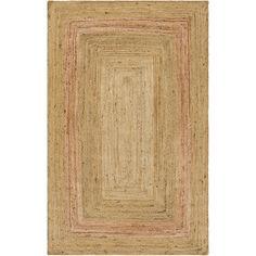 Surya Brice BIC700 Rectangle Indoor Area Rug | Hayneedle Jute Rug, Woven Rug, Rectangular Rugs, Rug Making, Rug Runner, Hand Weaving, Area Rugs, Wall Decor, Indoor