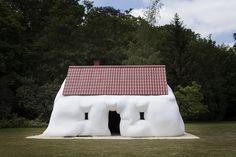 Fat house - Erwin Wurm by bhenkk, via Flickr