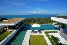 Contemporary Luxury 5-Bed Seaview Villa, Bang Por, Samui  --- from 1100$ per night