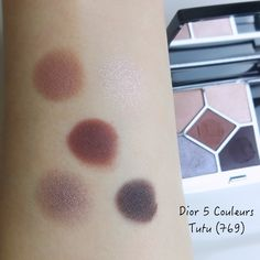 Dior 5 Couleurs Couture Eyeshadow Palette 679 Tutu | Lenallure Purple Palette, Sunscreen Spf 50, Eye Base, High End Makeup, Makeup Items, Dramatic Look, Tone It Up, Blusher