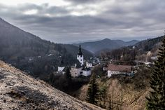 Banska Bystrica in Slovakia is an old town with a lot of history; plant yourself down in one of the cafes and drink in the views of the churches and houses Places Around The World, Around The Worlds, Old Town, Gems, Mountains, Travel, Cafes, Old City, Viajes