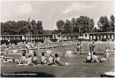 Swimming pool 'Hattem'. Many summer I did go there with my brothers and sisters. The men and woman had their own swimming pool.