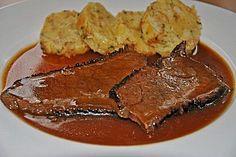 Fränkischer Sauerbraten, ein schmackhaftes Rezept aus der Kategorie Rind. Bewertungen: 32. Durchschnitt: Ø 4,4.