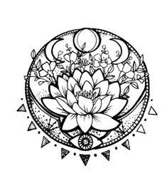 I do not know which is more I like – - diy tattoo project Lotusblume Tattoo, Tattoo Trend, Lotus Tattoo, Tattoo Drawings, Wolf Tattoos, Finger Tattoos, Body Art Tattoos, New Tattoos, Tatoos