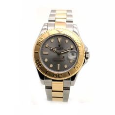Rolex 18K/SS Midsize Yachtmaster Yacht-Master Slate Gray 68623 W/ Papers. Get the lowest price on Rolex 18K/SS Midsize Yachtmaster Yacht-Master Slate Gray 68623 W/ Papers and other fabulous designer clothing and accessories! Shop Tradesy now