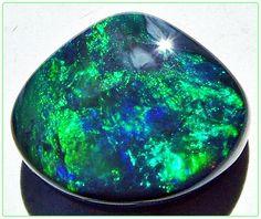 Opals-On-Black: Lightning Ridge Black Opal Bead BK013