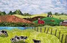 Art Quilt Landscape Patterns - WOW.com - Image Results