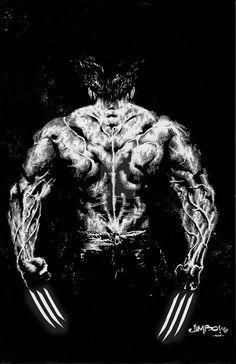 Wolverine by Jimbo Salgado