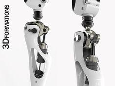 3d prosthetic limb model - PROSTHETIC LIMB... by 3dformations