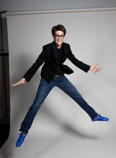 Rachel Maddow. Shot by Jake Chessum