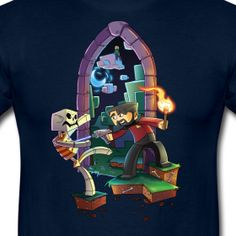 Mens Tee: Brave Xephos | Welcome to the Yogscast Store! #yogscast