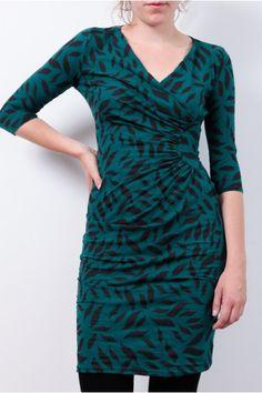 Dress: http://www.todayisagoodday.be/vrouwen/people-tree-stella-leaf-print-teal.html