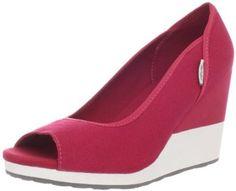 "Teva Women's Mush Promenade Wedge Sandal Teva. $54.95. Fit: True to Size. Upper: Canvas. Heel measures approximately 3.25"". Insole: EVA. Rubber sole. Fabric. Platform measures approximately 0.5"" . Outsole: Rubber"