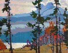 Counterlight on the Jasper Parkway by Robert Genn Landscape Pictures, Landscape Art, Landscape Paintings, Mountain Landscape, Landscapes, Canadian Painters, Canadian Artists, Art Impressions, Australian Art