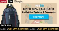 #Paytm Fashion Flash Sale: It's Weekend Clearance Sale! Stop thinking and do shopping.